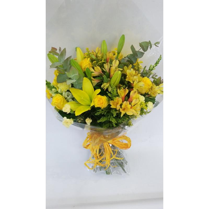 423 Buque de flores Mistas sobre tons