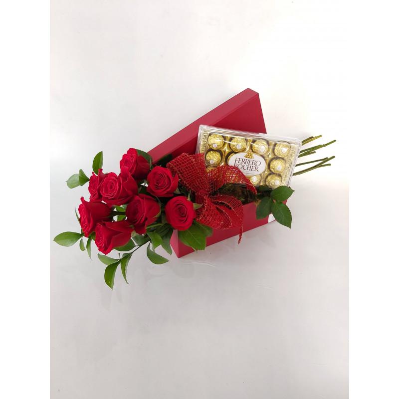 525 Colhi estas 8 Rosas Para Você