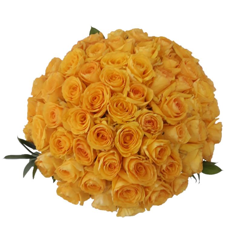 439 Buque de 75 Rosas Amarelas
