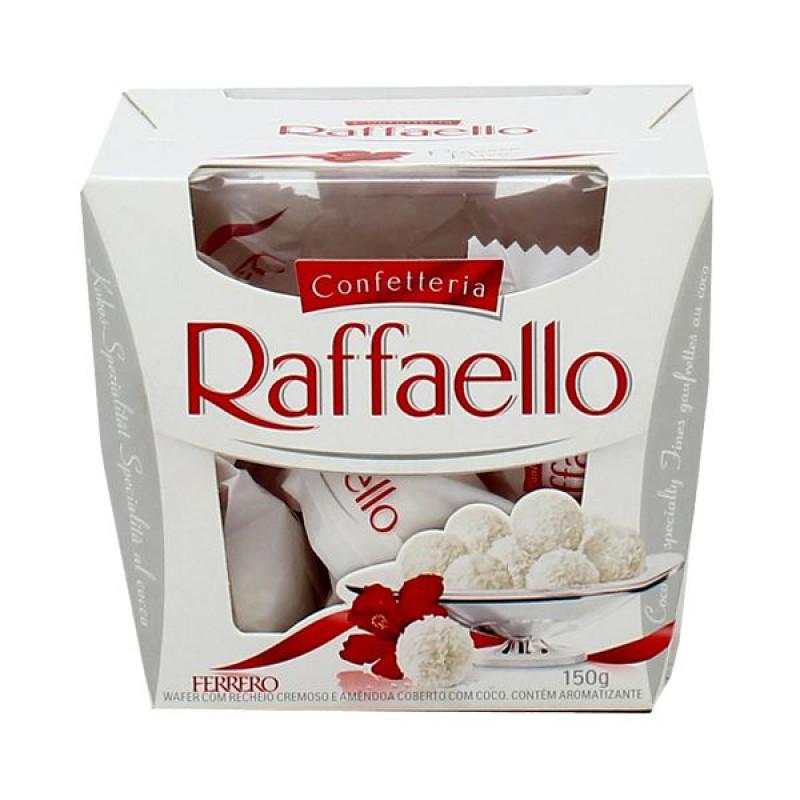 10 - Bombom Raffaello Ferrero Rocher 150g