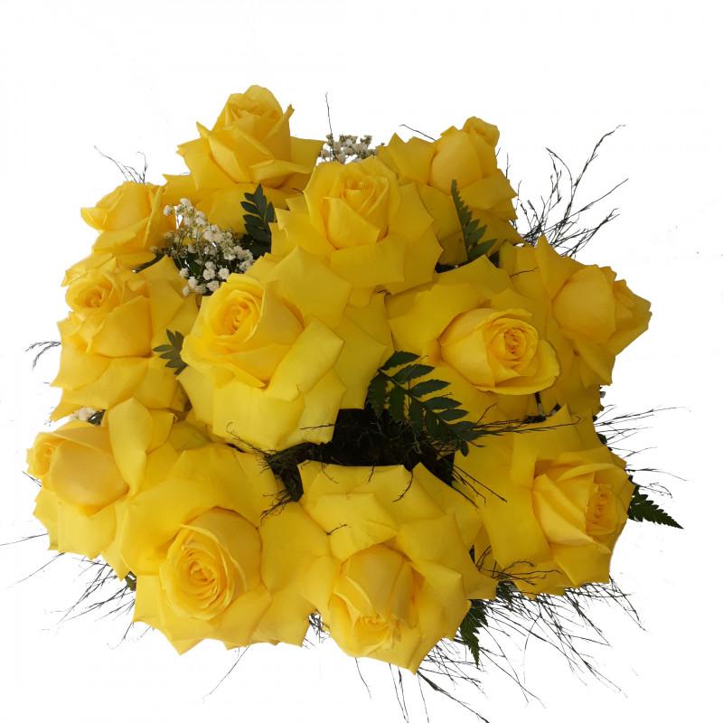 441 Buque 12 Rosas Amarelas