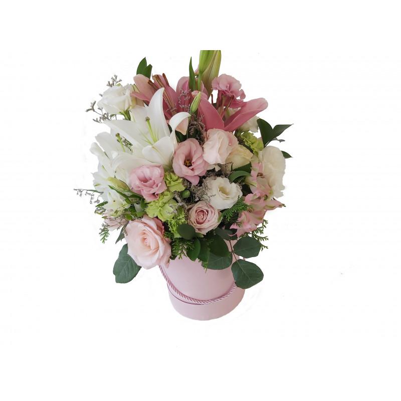 517 Arranjo Floral Majestoso na caixa Box.