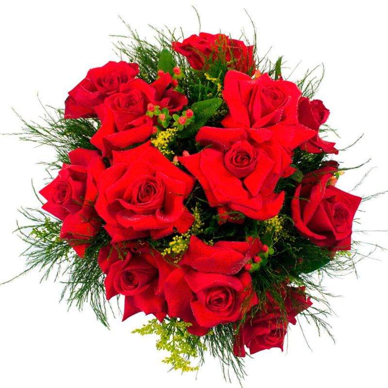 401 Buque de Rosas Colombianas