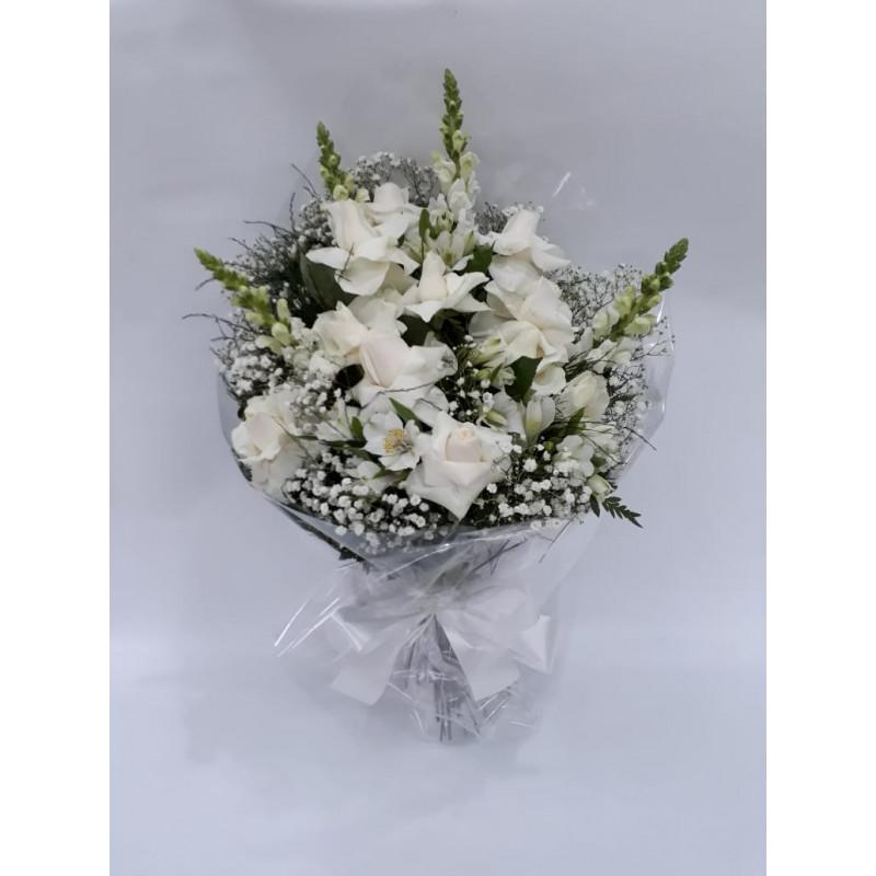 670 Ramalhete Fúnebre com Rosas