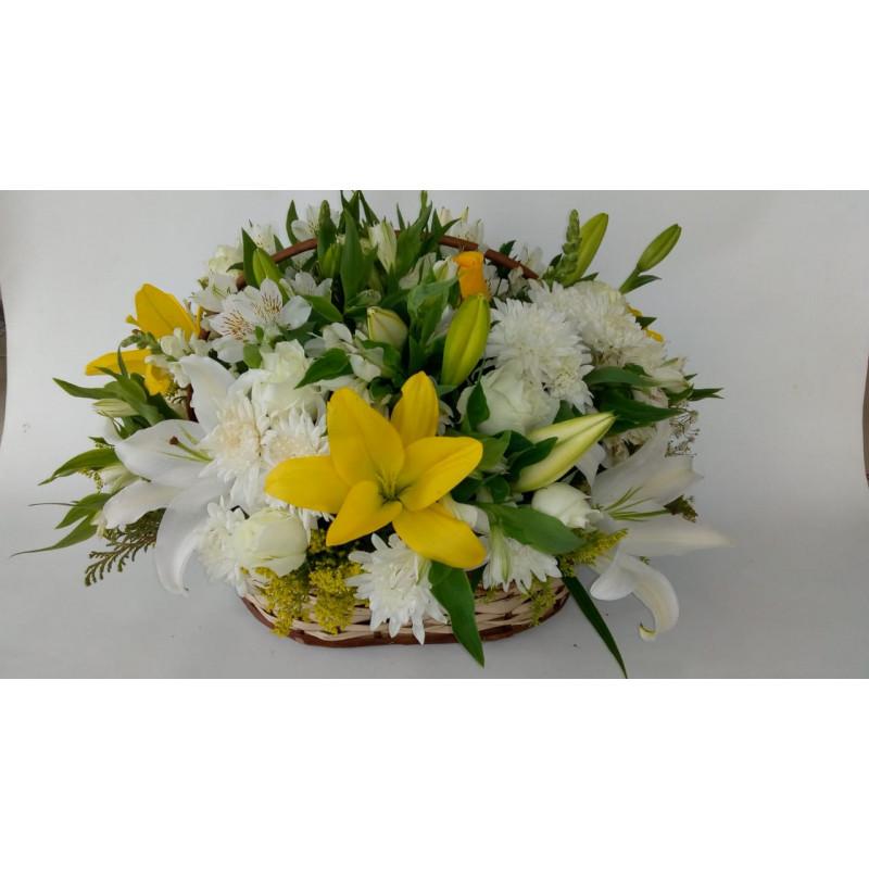 116  cesta de flores