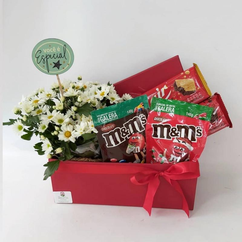 516 Caixa Margarida com Chocolates