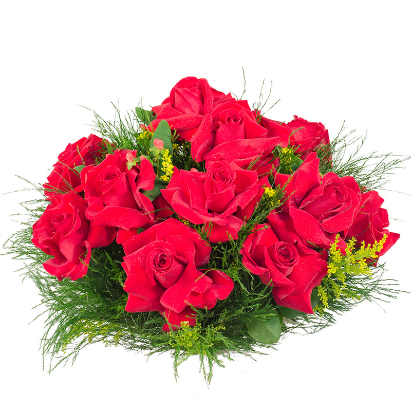 421 Buque 12 de Rosas  Vermelhas